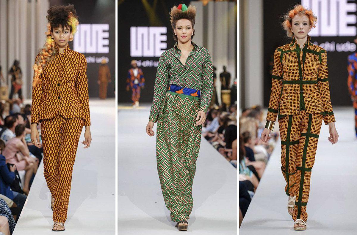 Pokaz Chi-Chi Ude IMS Warsaw Fashion Street 2016
